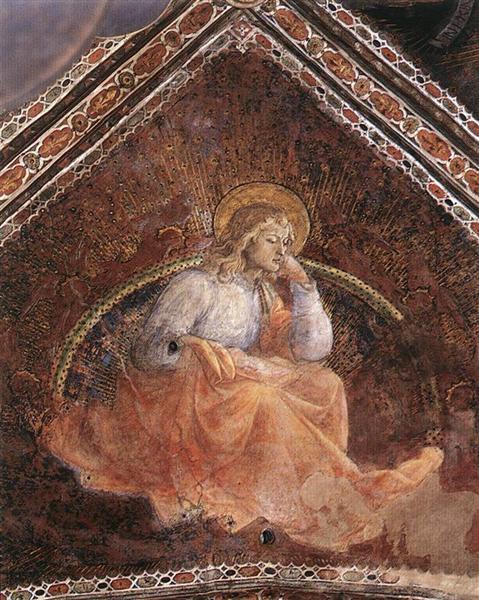 St. Luke the Evangelist, 1454 - Filippo Lippi