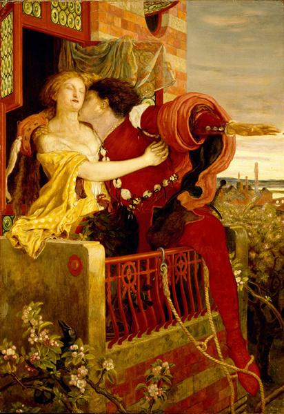 Romeo and Juliet, 1868 - 1871 - Ford Madox Brown