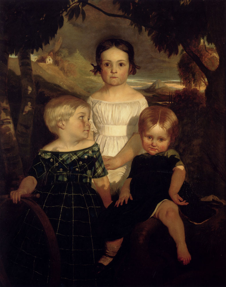 The Bromley Children, 1843