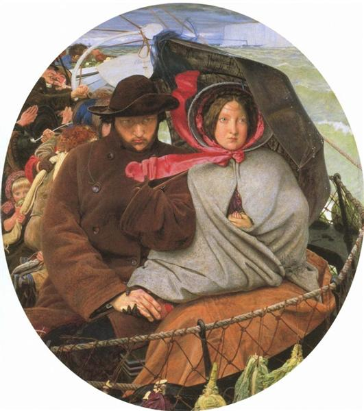 The Last of England - Ford Madox Brown