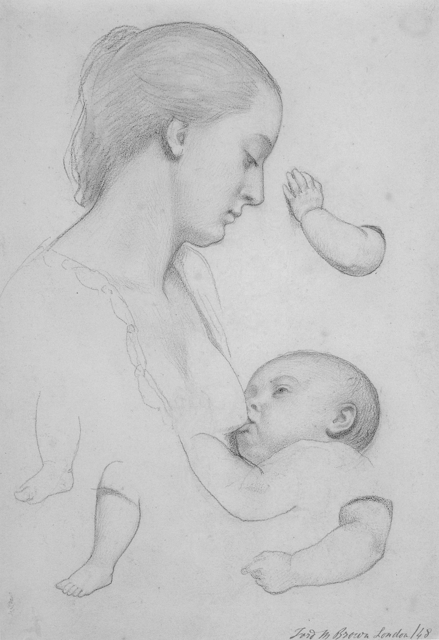 The Young Mother, 1848