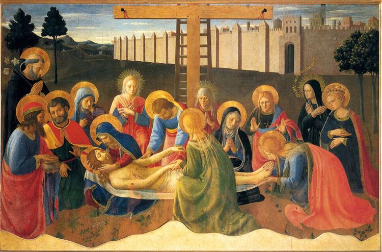 Lamentation over Christ, 1436 - 1441 - Fra Angelico