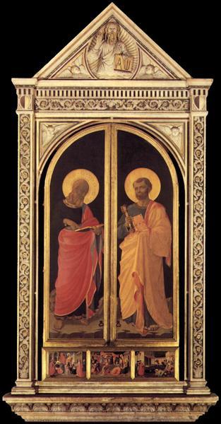 Linaioli Tabernacle, c.1433 - Fra Angelico