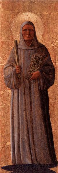 St. Bernard of Clairvaux, 1438 - 1440 - Fra Angelico