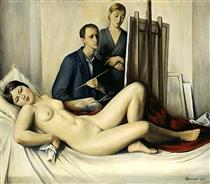 The Painting Session - François Barraud
