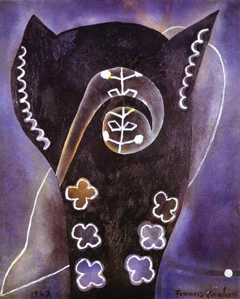Courage, 1947 - Francis Picabia
