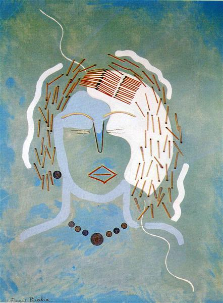 Match Woman, 1924 - 1925 - Francis Picabia