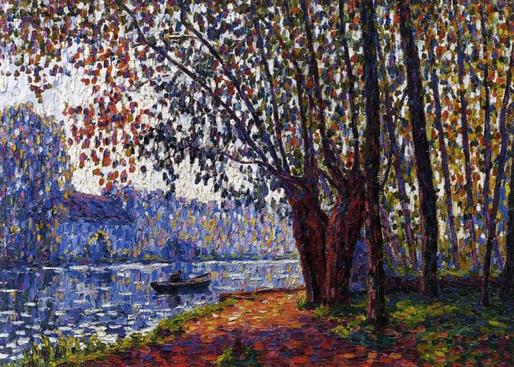 Sunlight on the Banks of the Loing, 1908 - Francis Picabia