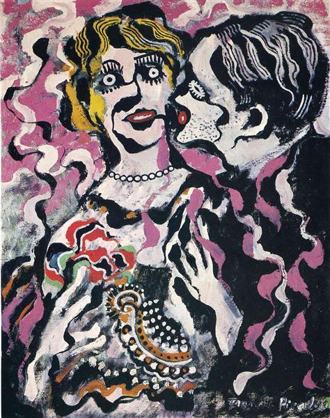 Veglione, Cannes, 1924, 1924 - Francis Picabia
