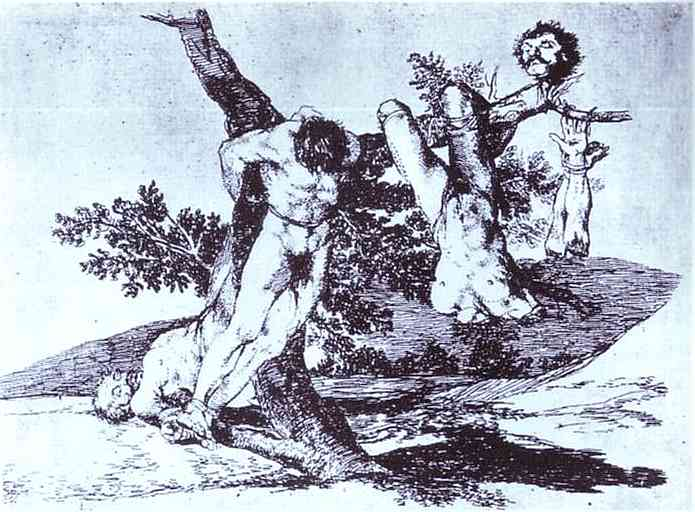 Bazan Grande! With Dead, 1812 - 1814 - Francisco Goya