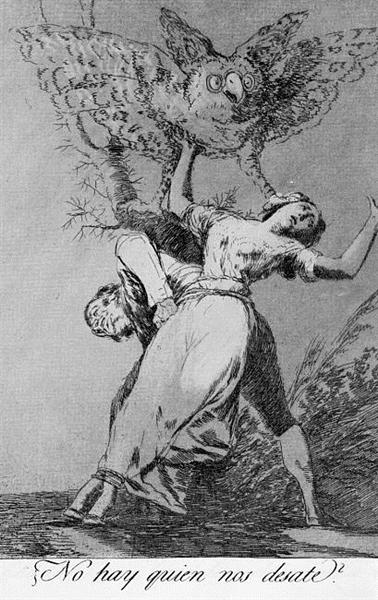 Can't anyone untie us?, 1799 - Francisco Goya