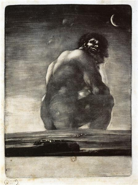 Colossus - Goya Francisco