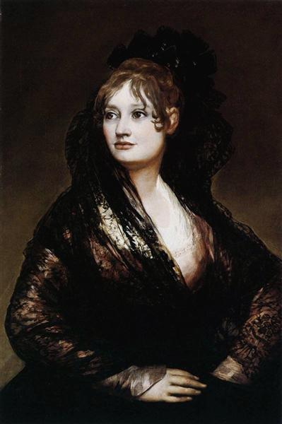 Dona Isabel de Porcel, 1806 - Francisco Goya