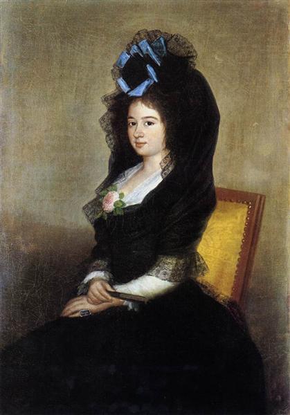 Dona Narcisa Baranana de Goicoechea, c.1810 - Francisco Goya