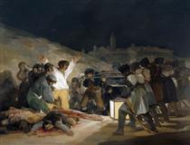 Il terzo maggio 1808 (Esecuzione dei difensori di Madrid) - Francisco Goya