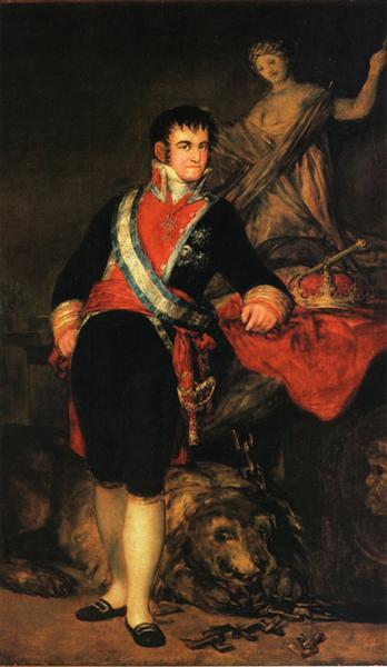 Fernando VII, 1814 - Francisco Goya