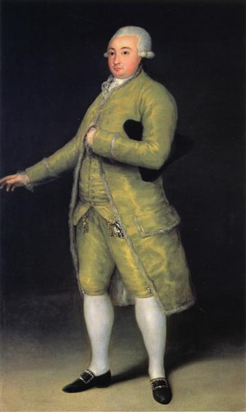 Francisco de Cabarrus, 1788 - Francisco Goya