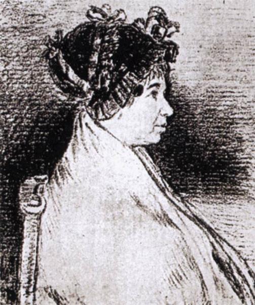 Josefa Bayeu, 1805 - Francisco Goya