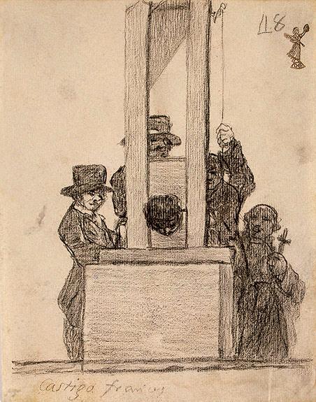 La Pena de Francia, 1824 - 1828 - Francisco Goya