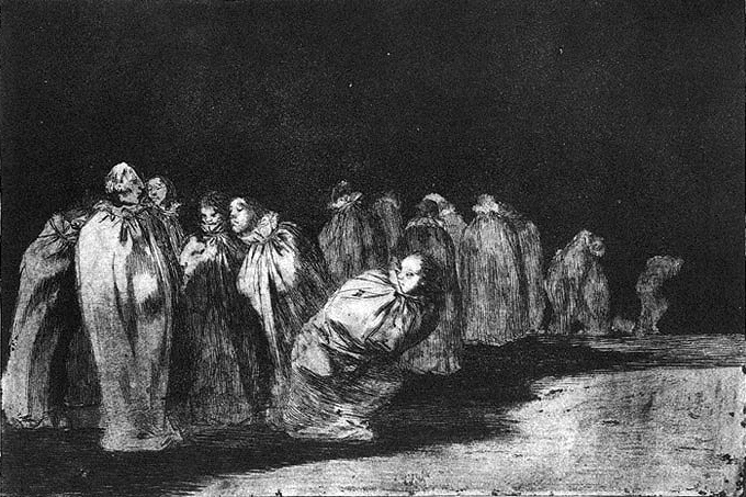 The bagged, 1816 - 1823 - Francisco Goya