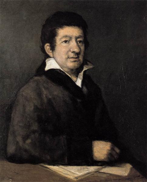 Poet Moratín, 1824 - Francisco Goya