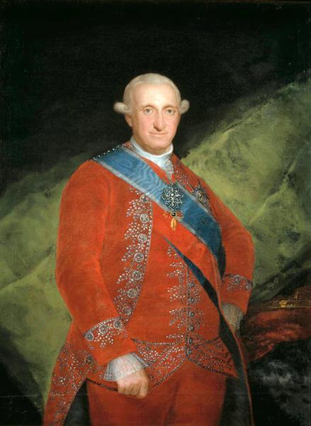 Portrait of Charle IV of Spain, 1789 - Francisco Goya