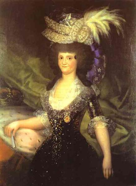 Queen Maria Luisa, 1789 - Франсиско де Гойя