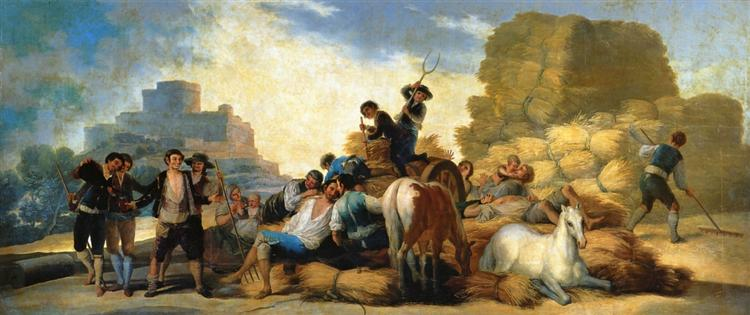 Summer, or The Harvest, 1786 - Francisco Goya