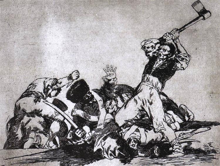 The same, c.1810 - c.1815 - Francisco Goya