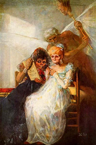 Time of the Old Women, 1820 - Francisco Goya