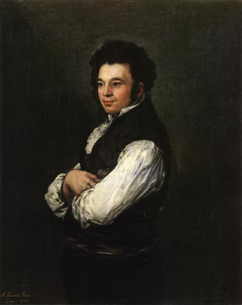 Tubercio Pérez Cuervo, 1820 - Francisco de Goya