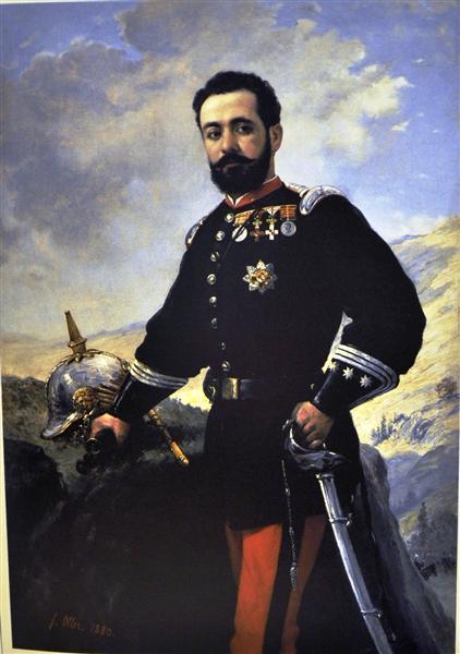 Coronel Francisco E. Contreras, 1880 - Francisco Oller