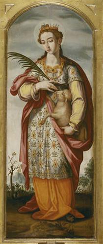 Saint Ines - Francisco Pacheco
