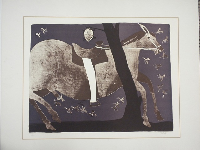 Horse Stung by Wasps, 1975 - Francisco Toledo