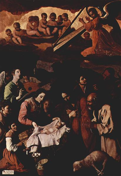 Adoration of the Shepherds - Francisco de Zurbaran