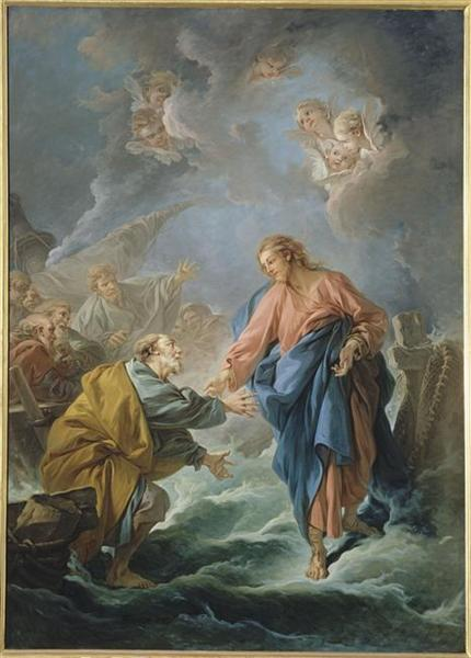 St. Peter Invited to Walk on the Water, 1766 - Francois Boucher