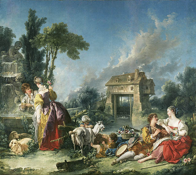 The Fountain of Love - Francois Boucher