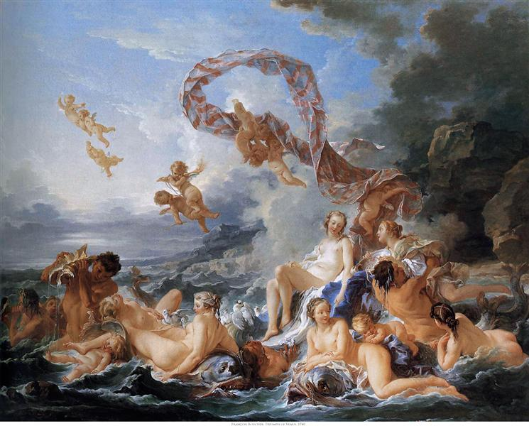 The Birth and Triumph of Venus - Francois Boucher