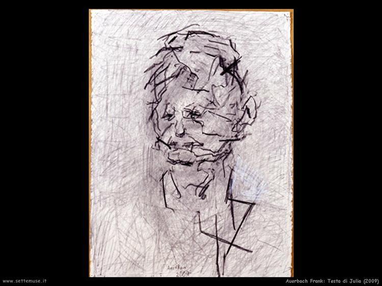 Portrait of Julia, 2000 - Frank Auerbach