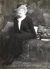 Thilda H. - The Veiled Lady - Frank Eugene
