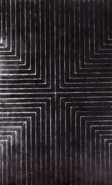 Die Fahne Hoch!, 1959 - Frank Stella