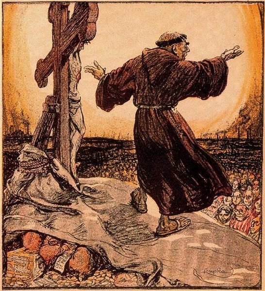 Always poor, 1902 - Frantisek Kupka