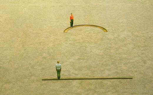 Straight Line Semi Circle, 1975 - Franz Erhard Walther
