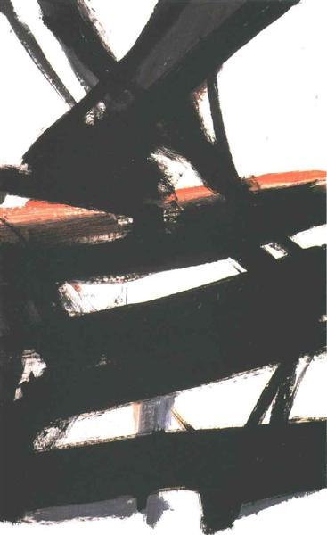 Horizontal Rust, 1960 - Franz Kline