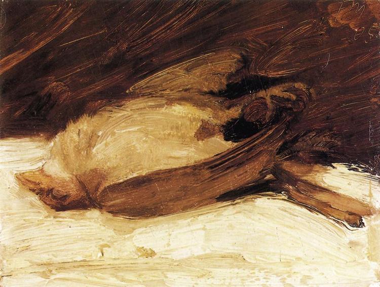 The Dead Sparrow, 1905 - Franz Marc