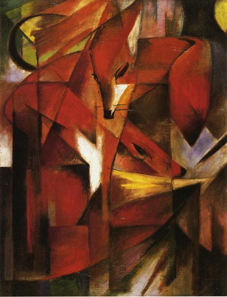 The Fox, 1913 - Franz Marc