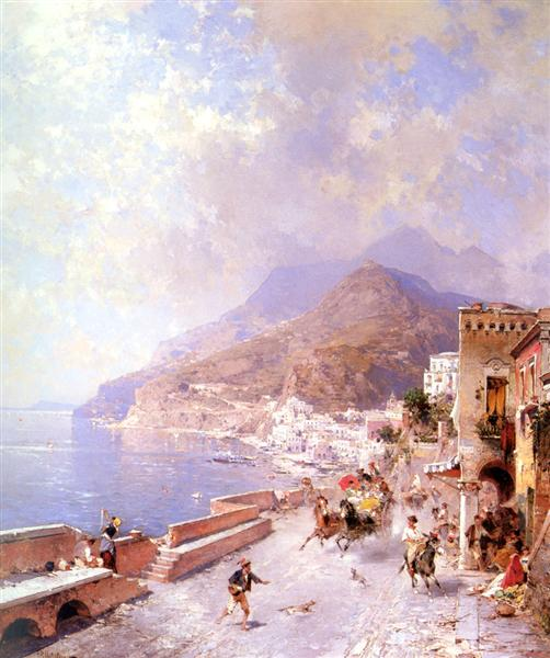 Amalfi - Franz Unterberger Richard