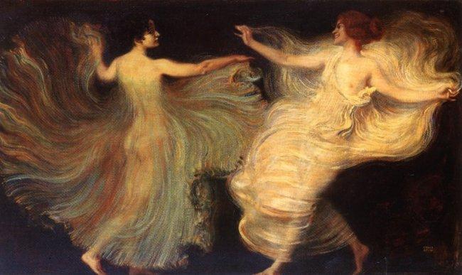 Dancers, 1896 - Franz Stuck