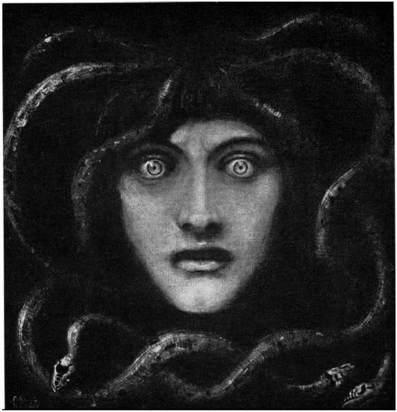 Medusa, 1892 - Franz Stuck