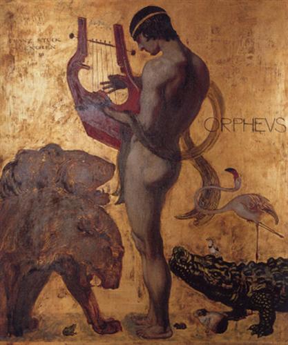 Orpheus, de Franz Stuck